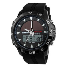 Load image into Gallery viewer, Fashion Mens Solar Dual Movement Waterproof  Watch Sport Watch