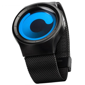 New Concept Watch Minimalist Style Cool Color Mens Wristwatch