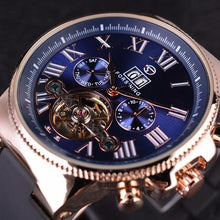 Load image into Gallery viewer, Fashion Mens Business Bezel Tourbillion Designer Watch