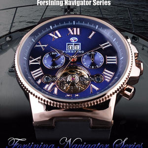 Fashion Mens Business Bezel Tourbillion Designer Watch