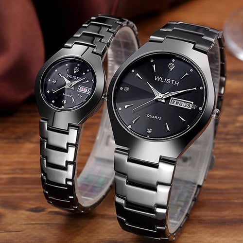 Fashion Luminous Tungsten Steel Couple Watch Woman's Watch Man's Watch