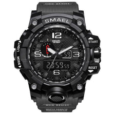 Load image into Gallery viewer, Mens Military Watch LED Quartz Clock Sport Watch