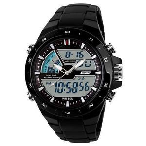 Sports Watches Mens Fashion Casual Digital Quartz Wristwatches