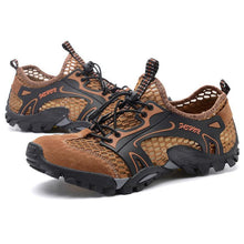 Load image into Gallery viewer, Mens Breathable Fashion Walking Shoes