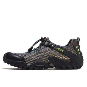 Breathable Mens Hiking Mens  Shoes