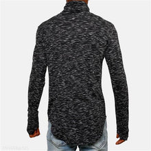 Load image into Gallery viewer, Mens Fashion Youth Casual Sport Loose Color Block High Waist Long Sleeve Sweater