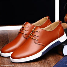 Load image into Gallery viewer, Fashion Business Casual Plain Leather Mens Shoes