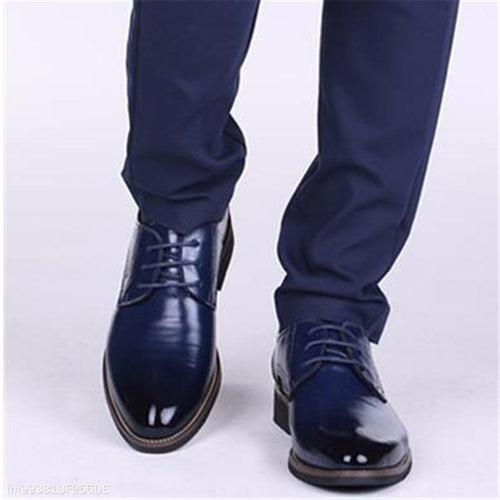 Fashion Business Formal Leather Plain Suit Mens Shoes