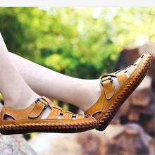 Load image into Gallery viewer, Fashion Casual Soft Previous Plain Cow Leather Mens Shoes