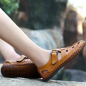 Fashion Casual Soft Previous Plain Cow Leather Mens Shoes