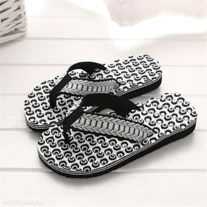 Fashion Vacation Mens Casual Flip Flops Slipper Shoes