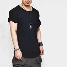Load image into Gallery viewer, Fashion Mens Sport Casual Loose Plain Short Sleeve Shirts