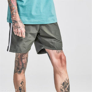 Fashion Mens Vacation Casual Sport Loose Print Short Pants