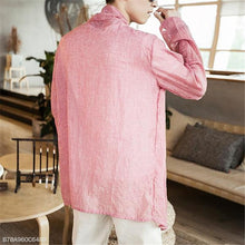 Load image into Gallery viewer, Fashion Mens Vacation Casual Loose Plain Long Sleeve Outerwear