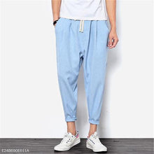 Load image into Gallery viewer, Fashion Mens Casual Sport Loose Plain Harem Pants