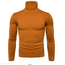 Load image into Gallery viewer, Fashion Mens Slim Plain Long Sleeve Sweater