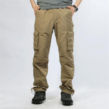 Load image into Gallery viewer, Fashion Mens Casual Vacation Loose Plain Joint Detachable Long Pants