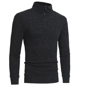Fashion Mens  High Collar Long Sleeve Sweater