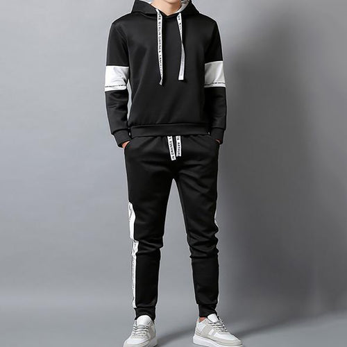 Mens Hooded Sport Suit