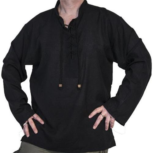 Casual Plain Blinding Thin Mens Shirt