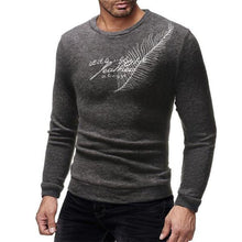 Load image into Gallery viewer, Fashion Mens  Casual Soft Thermal Embroidery  Sweater