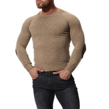 Load image into Gallery viewer, Fashion Casual Mens  Thermal Plain Long Sleeve Sweater