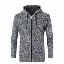 Load image into Gallery viewer, Fashion Plain Zipper Thicken Floss Coat