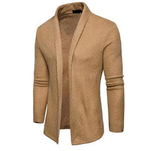 Load image into Gallery viewer, Casual Fashion Youth Slim Plain Long Sleeve Knitting Outerwear