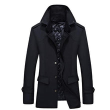 Load image into Gallery viewer, Casual Fashion Youth Slim Plain Button Long Sleeve Outerwear