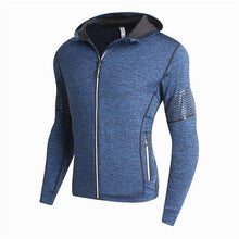 Load image into Gallery viewer, Fashion Casual Sport Slim Strip Long Sleeve Zipper  Outerwear