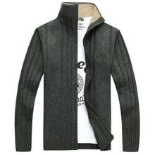 Load image into Gallery viewer, Fashion High Collar Plain Zipper Slim Coat