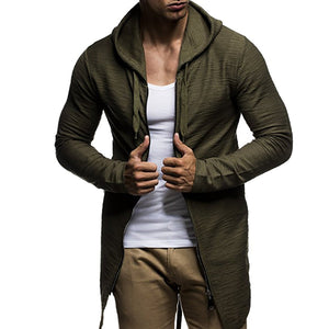 Fashion Long Sleeve Mens Outerwear