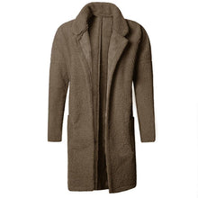 Load image into Gallery viewer, Plus Size Mid Length Double Side Wearable Thicken Fur Warm Wool Blend Coat