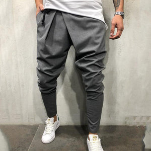 Casual Plain Slim Elastic Waist Pencil Pants