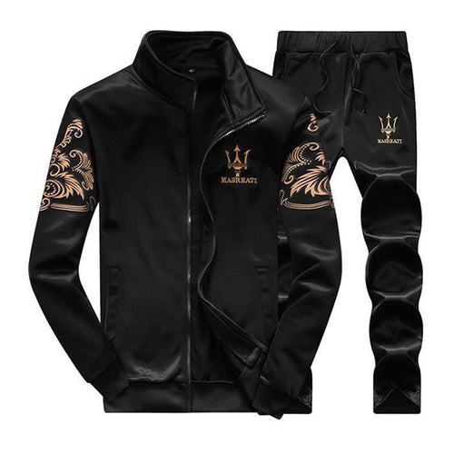 Fashion Casual Men's Sportswear Suits