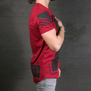 Mens Cotton Short Sleeve Print T-Shirt