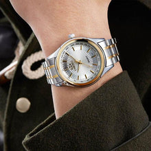 Load image into Gallery viewer, Fashion Stainless Steel Quartz Golden Wristwatches Mens Watches