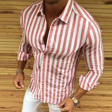 Load image into Gallery viewer, Striped Button Shirt 4 Colors