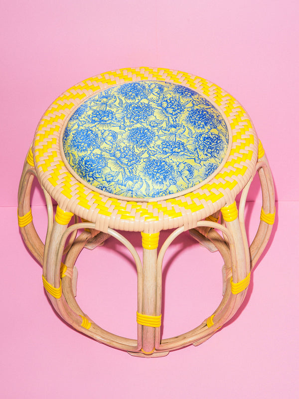Drum Stool (Yellow)