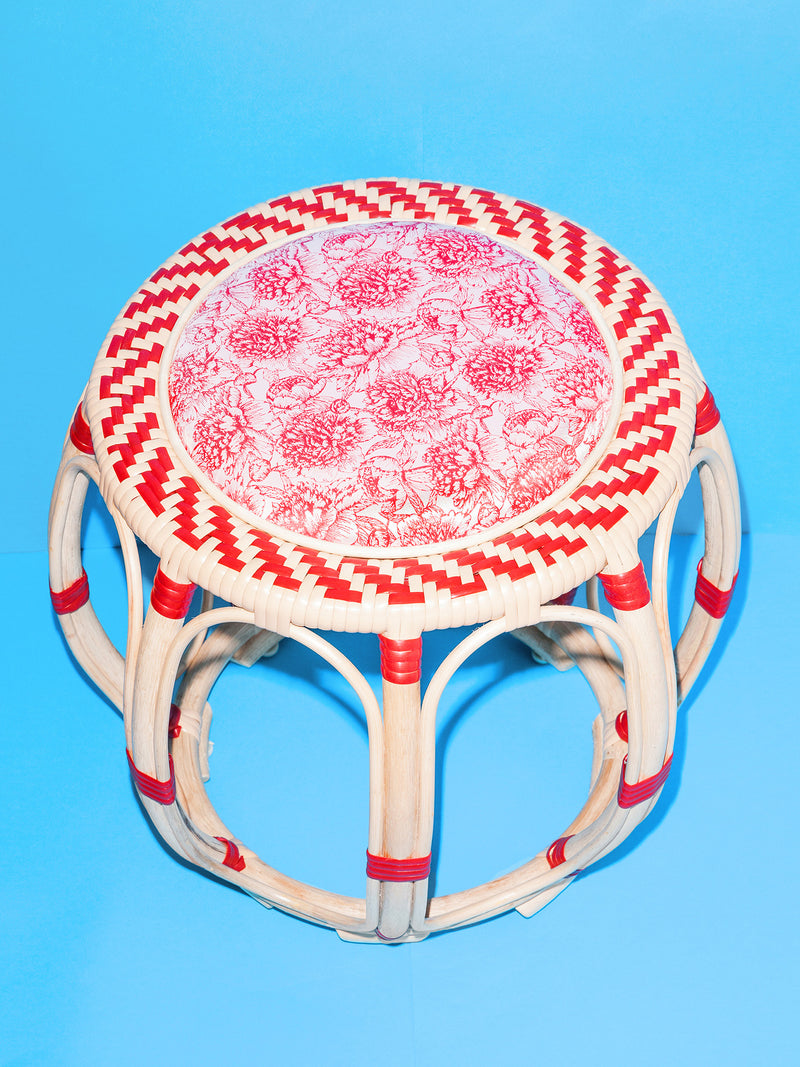 Drum Stool (Red)