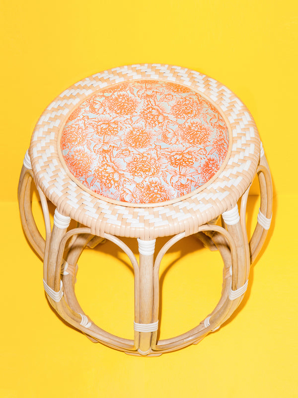 Drum Stool (White)