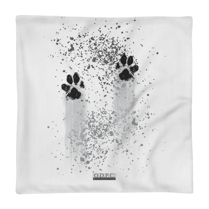 Paw Print Premium Pillowcase
