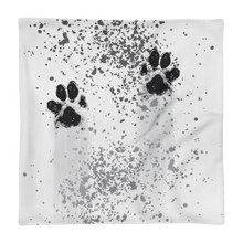 Load image into Gallery viewer, Paw Print Premium Pillowcase