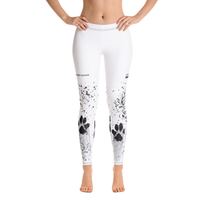 Muddy Paw Full-Length Leggings