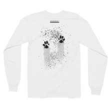 Load image into Gallery viewer, Muddy Paws Long Sleeve T-shirt (unisex):  No quote on back