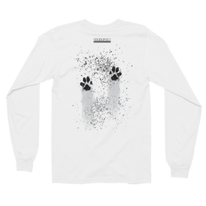 Muddy Paws Long Sleeve T-shirt (unisex):  No quote on back