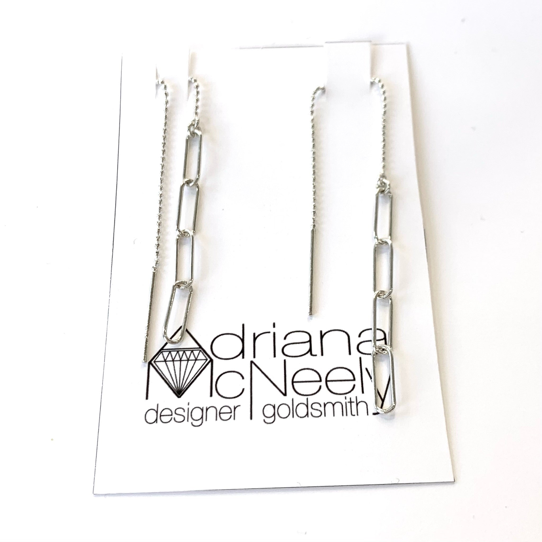 Chainlink Dangle Earrings