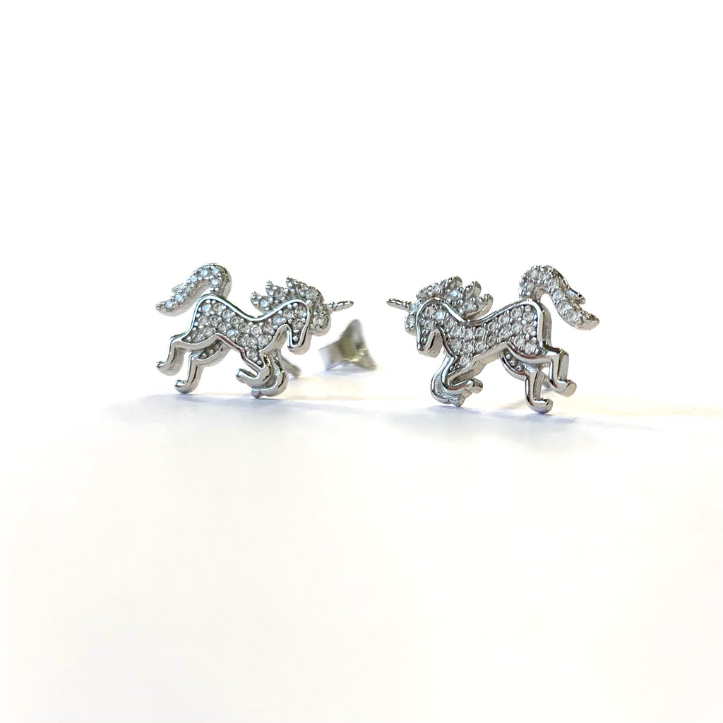 Sparkle Unicorn Studs