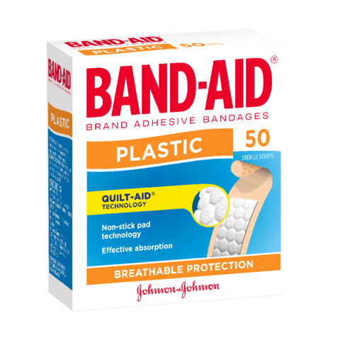 Band Aid Plastic Strips