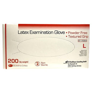Latex Gloves - Large - Box of 200